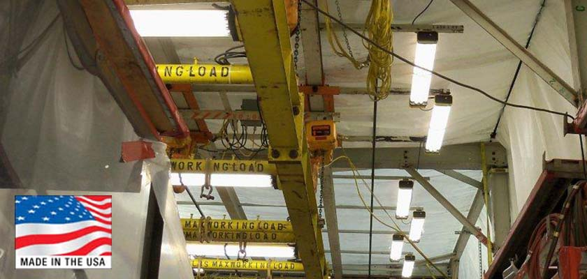 New Led Temporary Job Site Lighting System Is Rugged And