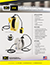 RTB Retractable Cord Reel Specification Sheet thumbnail