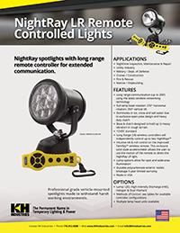KH NightRay LR Specification Sheet thumbnail