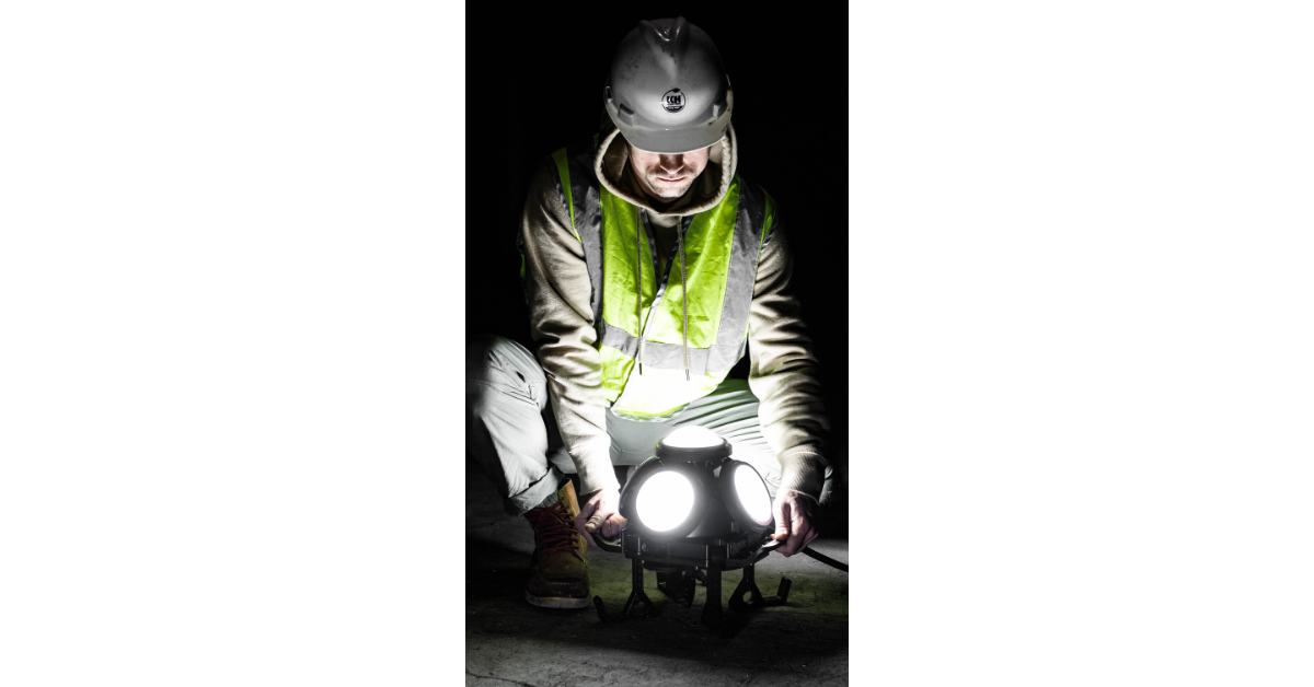 Example of HazRay™ Multi-Head LED Explosion Proof Light in Use. Suitable for CID1 and CID2 Hazardous Locations.